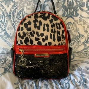 Juciy Couture Clashing Hearts Backpack